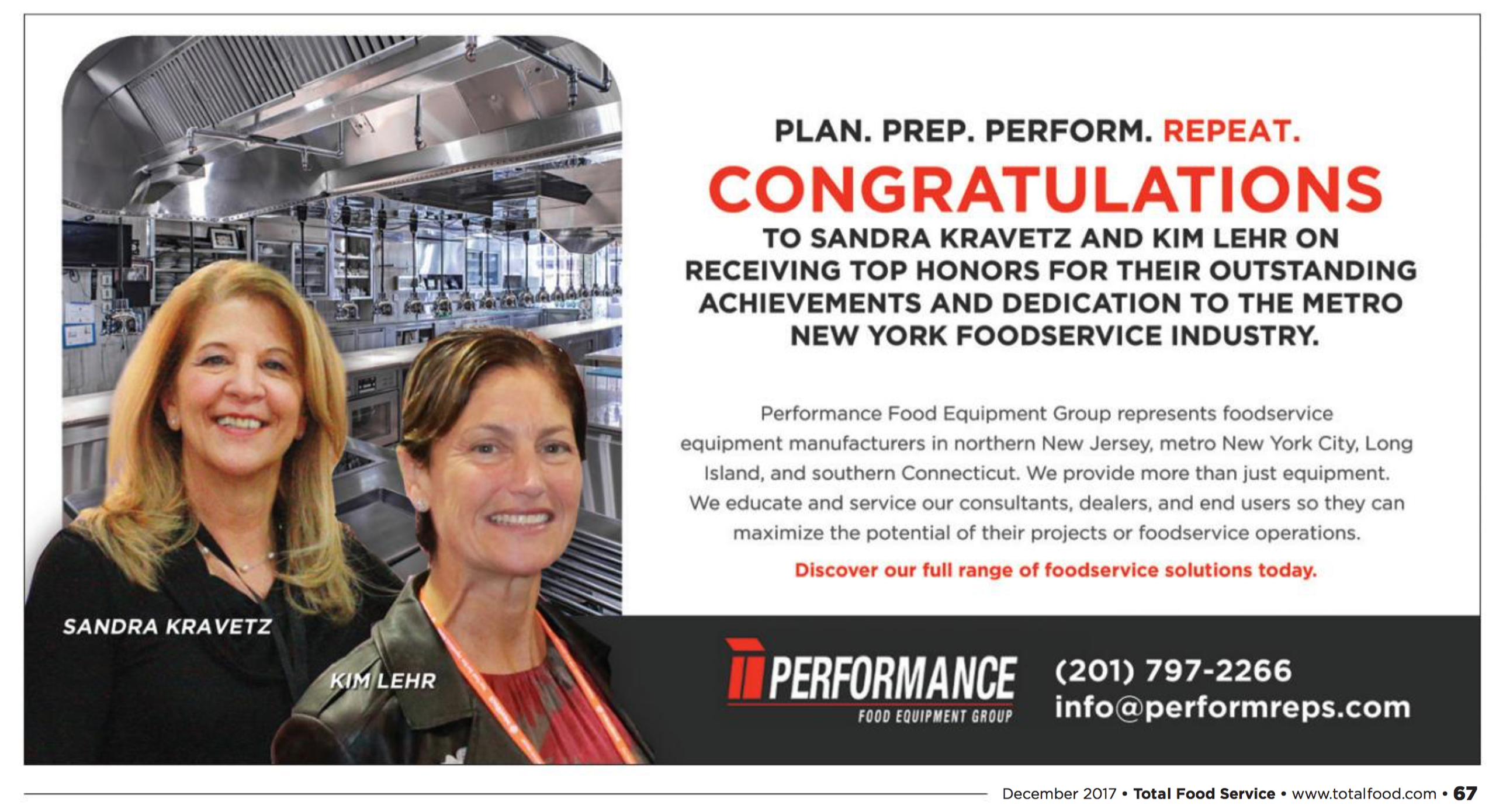 Congratulations to Sandra Kravetz and Kim Lehr-McKeown for Their TotalFoodService Recognition.png