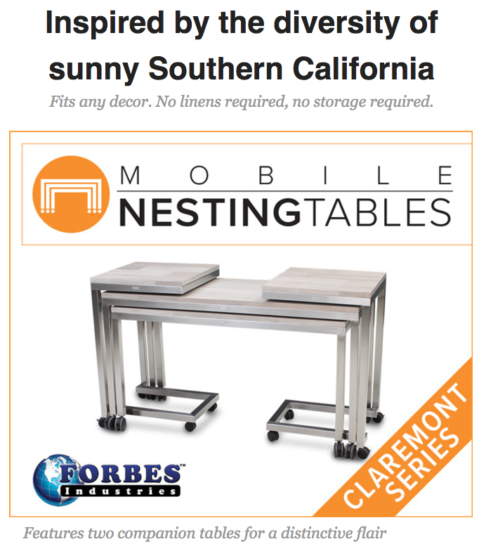 New Nesting Tables from Forbes
