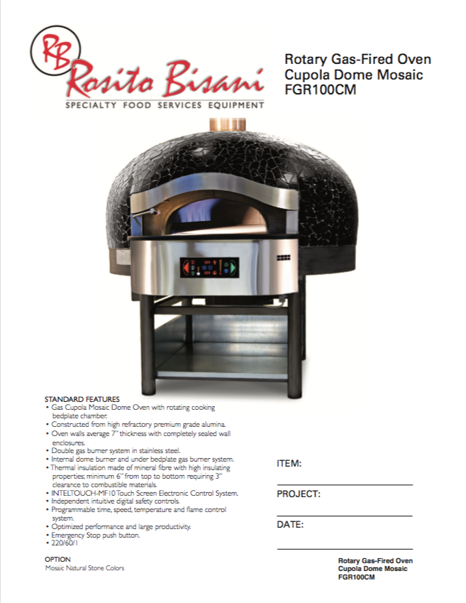 Rosito Bisani Rotary Gas Fired Pizza Oven.png