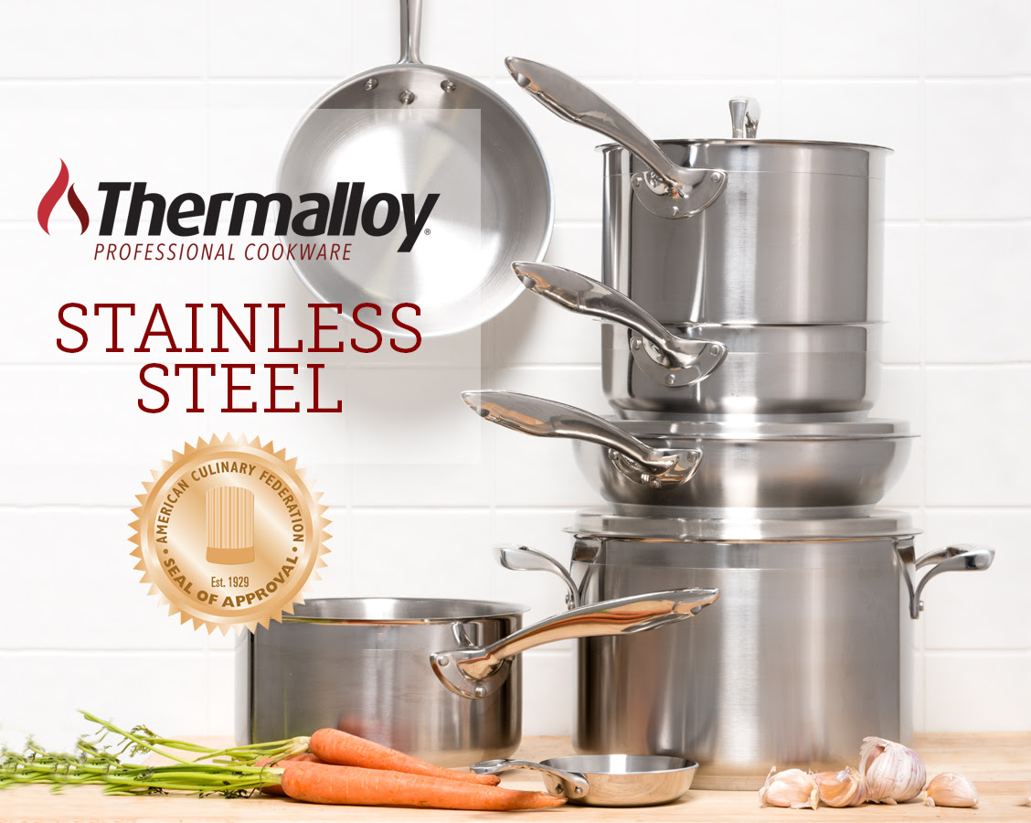 This Is the Only Stainless Steel Cookware Certified by the American Culinary Federation